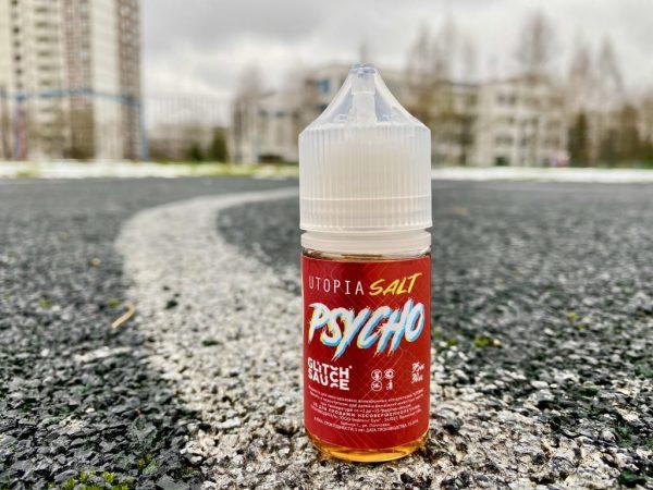 Жидкость Utopia Salt Psycho вкусипар.рф