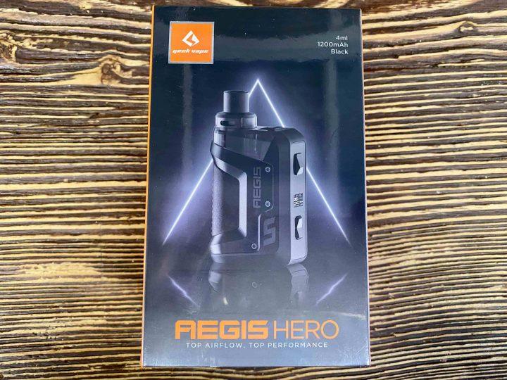Закрытая система Aegis Hero черный вкусипар.рф