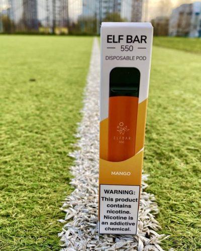 Одноразка Elf Bar Манго эльф бар вкусипар.рф