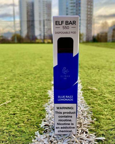 Одноразка Elf Bar Blue Razz Lemonade эльф бар вкусипар.рф
