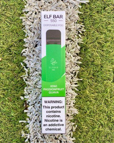 Одноразка Elf Bar Kiwi Guava эльф бар вкусипар.рф
