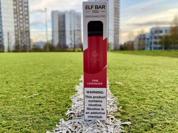 Одноразка Elf Bar Pink Lemonade эльф бар вкусипар.рф