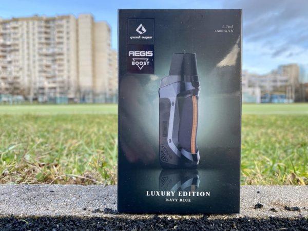 Pod Aegis Boost Luxury Edition Navy Blue вкусипар.рф