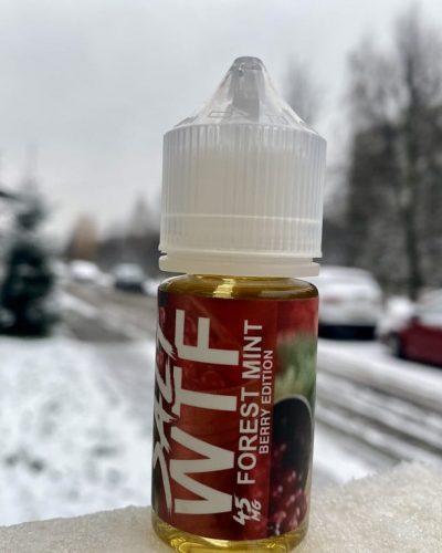 Жидкость WTF Salt Forest Mint вкусипар.рф