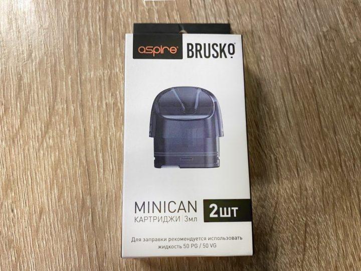 Картриджи на Pod Aspire brusko minican вкусипар.рф