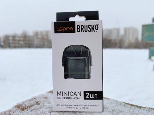 Картриджи на Pod Aspire brusko minican 3мл вкусипар.рф