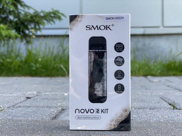 Smok Novo 2 Black Stabilizing Wood вкусипар.рф