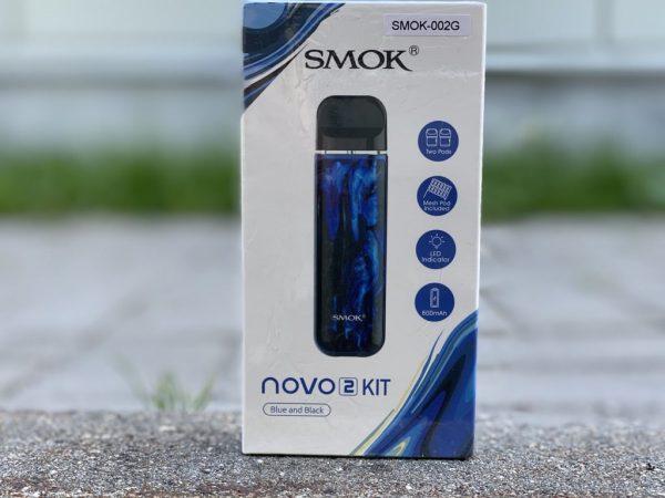 Smok Novo 2 Blue and Black вкусипар.рф