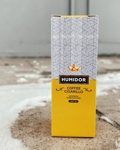 Жидкость Humidor Salt Coffee Cigarillo вкусипар.рф