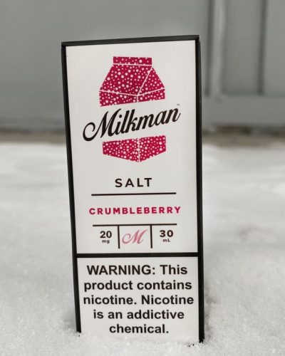Жидкость Milkman Salt Crumbleberry вкусипар.рф