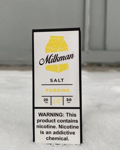 Жидкость Milkman Salt Pudding вкусипар.рф
