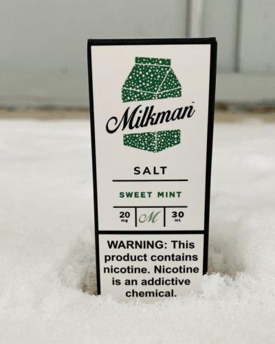 Жидкость Milkman Salt Sweet Mint вкусипар.рф