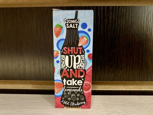 Жидкость Shut up and take lemonade salt Wild Strawberry вкусипар.рф