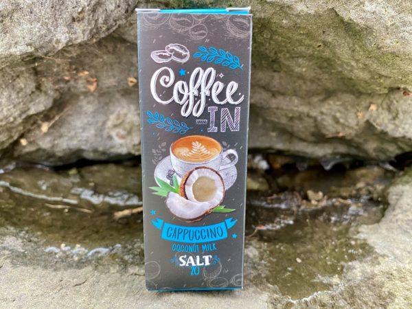 Жидкость Coffe-in Salt Coconut Milk вкусипар.рф