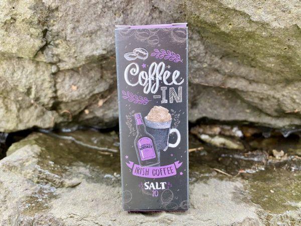 Жидкость Coffe-in Salt Irish Coffee вкусипар.рф