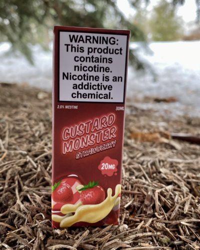 Жидкость Custard Monster Strawberry вкусипар.рф