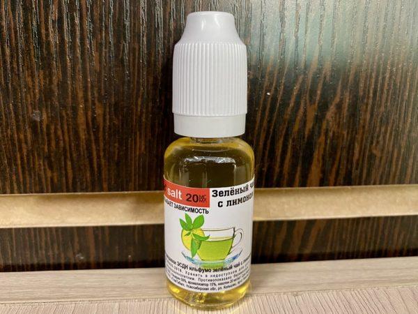 Жидкость Ilfumo Зеленый Чай с Лимоном вкусипар.рф