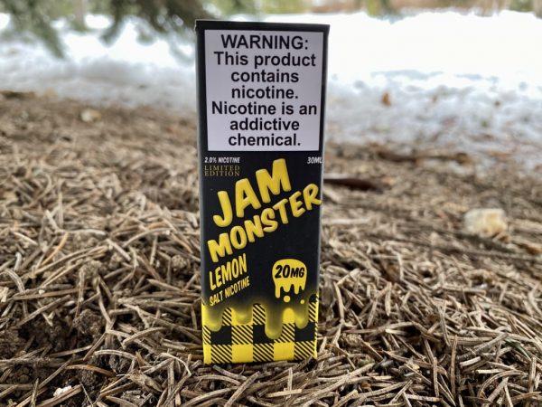 Жидкость Jam Monster Salt Lemon вкусипар.рф