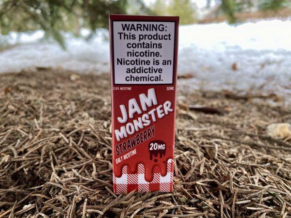 Жидкость Jam Monster Salt Strawberry вкусипар.рф