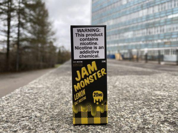 Жидкость Jamo Monster Salt Lemon вкусипар.рф Зеленоград вейп шоп