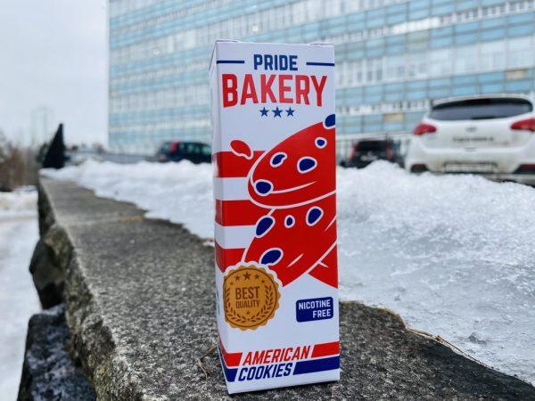 Жидкость Pride Bakery American Cookies вкусипар.рф