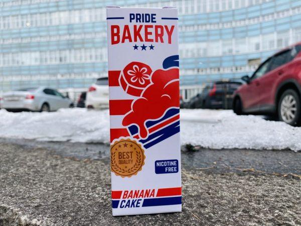 Жидкость Pride Bakery Banana Cake вкусипар.рф