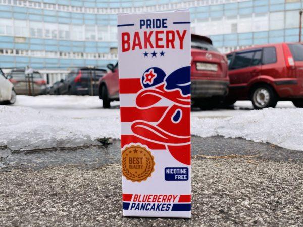 Жидкость Pride Bakery Blueberry Pancakes вкусипар.рф
