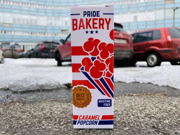 Жидкость Pride Bakery Caramel Popcorn вкусипар.рф