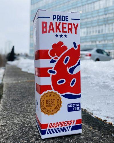 Жидкость Pride Bakery Raspberry Doughnut вкусипар.рф