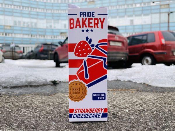 Жидкость Pride Bakery Strawberry Cheesecake вкусипар.рф