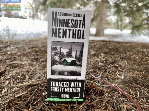 Жидкость Rough Flavor Series Minnesota Menthol вкусипар.рф