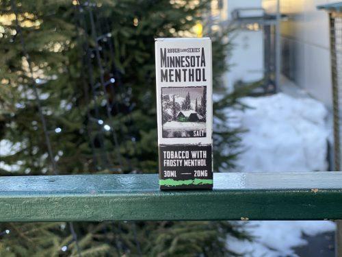 Жидкость Rough Flavor Series Salt Minnesota Menthol вкусипар.рф