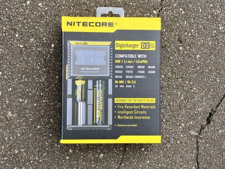 Зарядное устройство Nitecore D2 вкусипар.рф