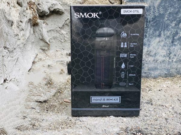 Pod Smok Nord 4 Black вкусипар.рф