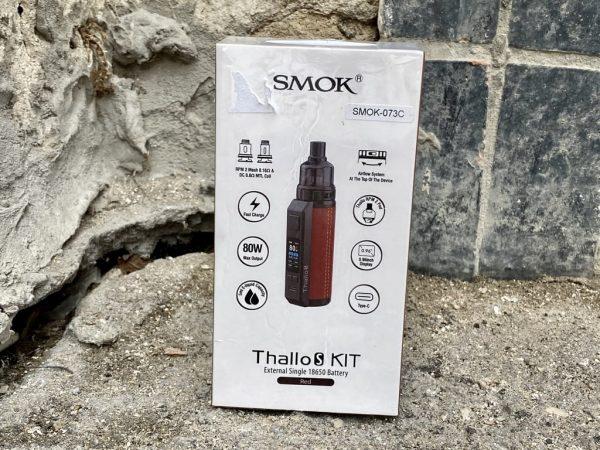 Pod Smok Thallo S Kit Red вкусипар.рф