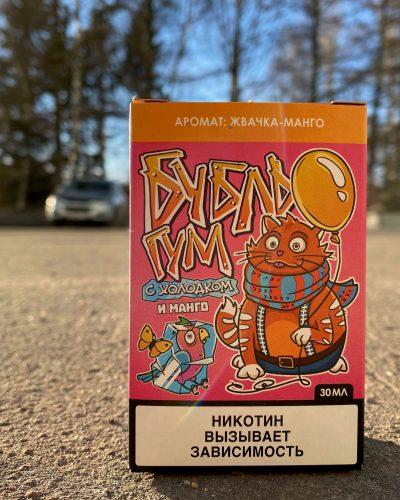 Жидкость Бубль Гум жвачка и манго вкусипар.рф