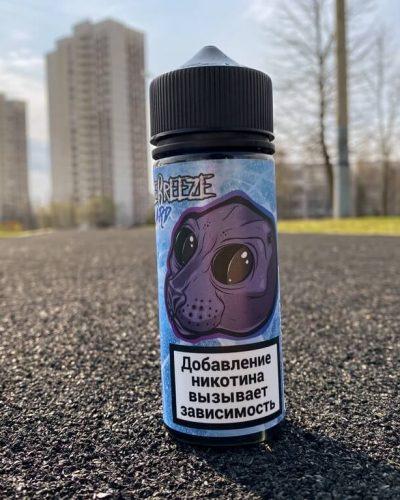 Жидкость Freeze Breeze Blizzard Raspberry Ice вкусипар.рф