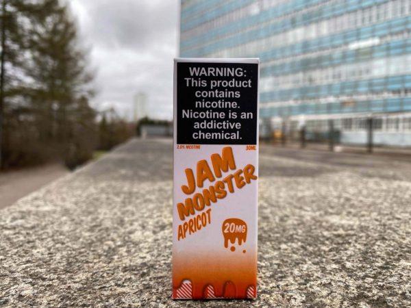 Жидкость Jam Monster Salt Apricot вкусипар.рф