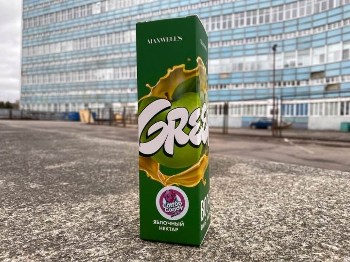 Жидкость Maxwells Green вкусипар.рф
