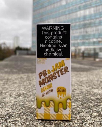 Жидкость PB Jam Salt Monster Banana вкусипар.рф