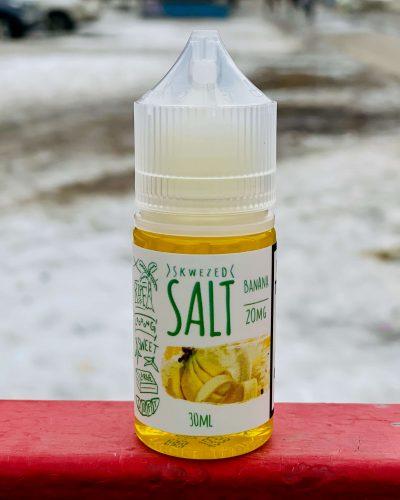 Жидкость Skwezed Salt Banana вкусипар.рф