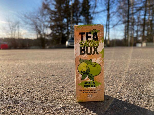 Жидкость Tea Box Salt Apple and Mint Tea вкусипар.рф 1