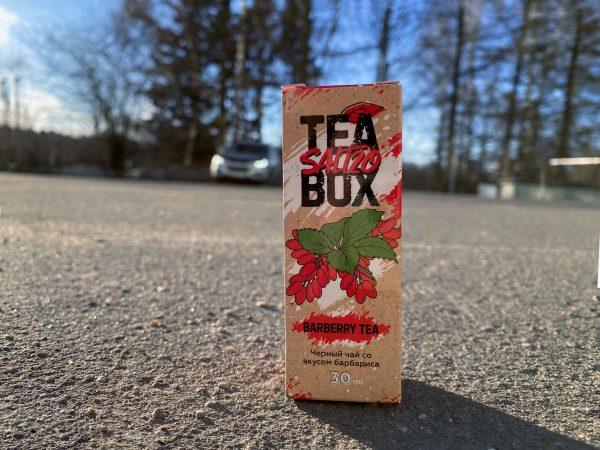 Жидкость Tea Box Salt Barberry Tea вкусипар.рф