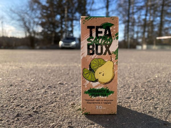 Жидкость Tea Box Salt Bergamot and Pear Tea вкусипар.рф