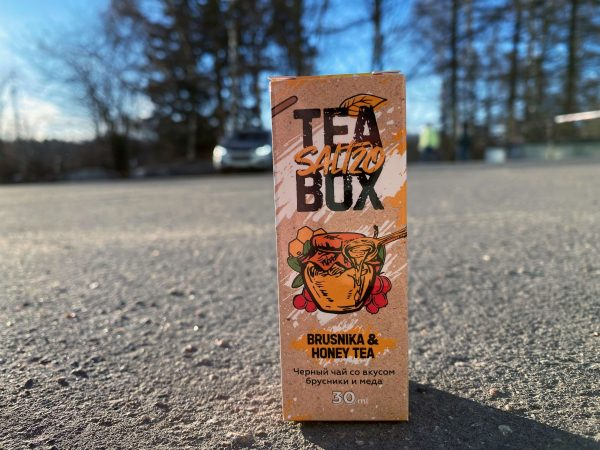 Жидкость Tea Box Salt Brusnika and honey Tea вкусипар.рф