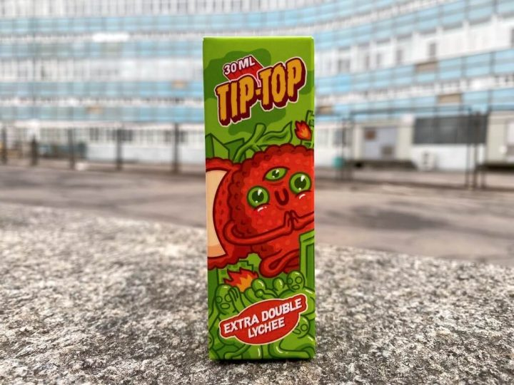 Жидкость Tip-Top Salt Extra Double Lychee вкусипар.рф