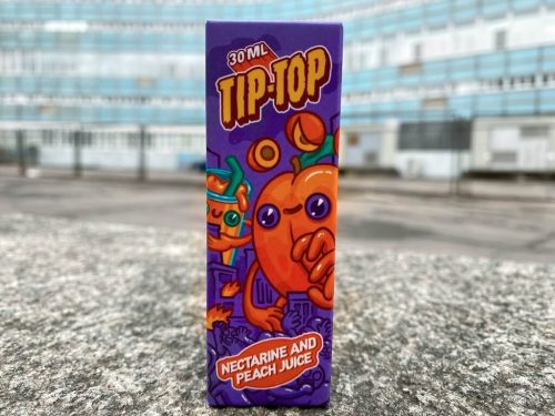 Жидкость Tip-Top Salt Nectarine and Peach Juice вкусипар.рф