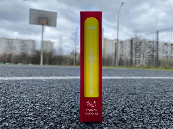 Одноразовая электронная сигарета IZI XLL Cherry Banana вкусипар.рф
