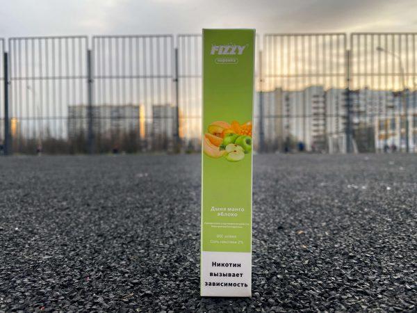 Одноразовые электронная сигарета Fizzy коронка Дыня манго яблоко вкусипар.рф