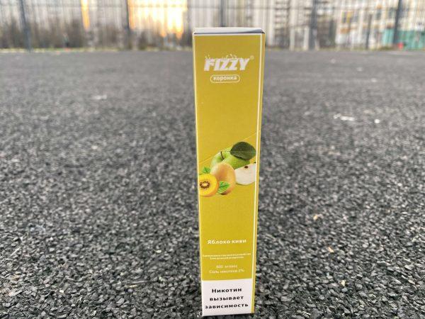 Одноразовые электронная сигарета Fizzy коронка чблоко киви 2вкусипар.рф